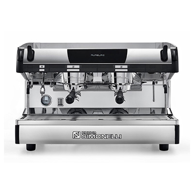 NUOVA SIMONELLI<sup>&reg;</sup> Aurelia II Espresso Machine - Recognized NUOVA SIMONELLI<sup>&reg;</sup> Aurelia II Espresso Machine - Recognized as one of the top preforming machines, this commercial grade espresso maker will turn your kitchen into a coffee bar.  Known for accuracy in temperature control, this machine also offers a brilliant stainless steel ergonomic design,  auto steam wand, dual chambers and self-cleaning feature.  Must have water line connection available for hookup.
